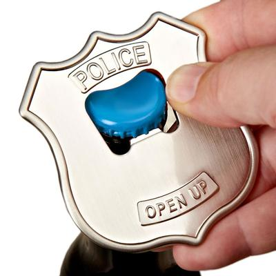 Click to get Police Badge Bottle Opener