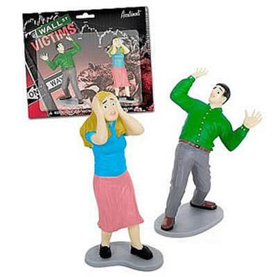 Click to get Wall Street Financial Victims Playset