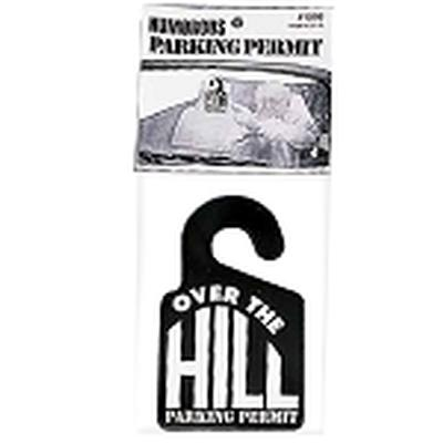Click to get Over the Hill Parking Permit