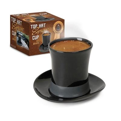 Click to get Top Hat Espresso Cup and Saucer