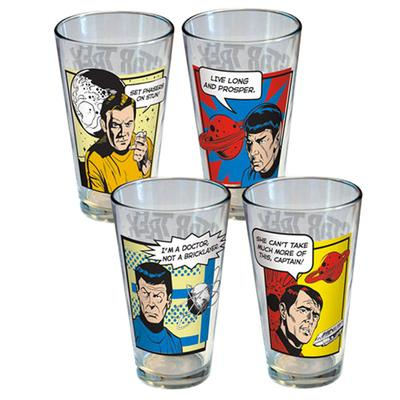 Click to get Star Trek Glass Set