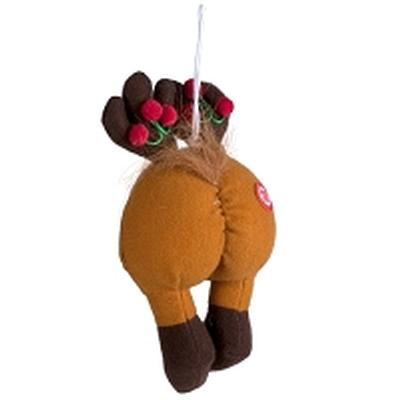 Click to get Reindeer Farting Butt Ornament