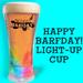Happy Barfday! Birthday Cup